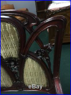1900 Art Nouveau Salon Set France #6271