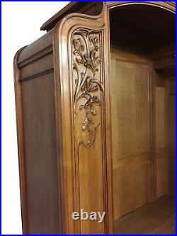 1920's Antique French Art Nouveau Four Piece Bedroom Set