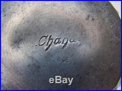 A E Chanal C. 1890-1910 Tea set & tray (4) Art Nouveau Pewter