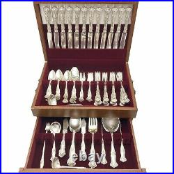 Antique 1904 VINTAGE GRAPES 100pc Service For 12 With Serving Pieces 1847 Rogers