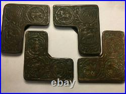 Antique Tiffany Studios Zodiac Desk Set 12 Pieces