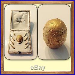 Art NOUVEAU French Antique 18K gold PARASOL SET Léon Moamet