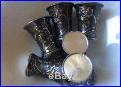 Art Nouveau WMF Jugendstil Silver set