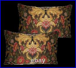Aubusson Lampossa Tapestry Pillows Set Of 2