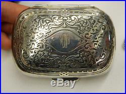 Ca. 1910 TIFFANY Sterling Silver Travel Vanity Set