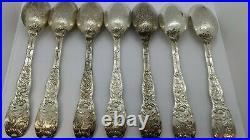 Chrysanthemum by Tiffany & Co. Sterling Silver Flatware Set 6 Service 29 Pcs