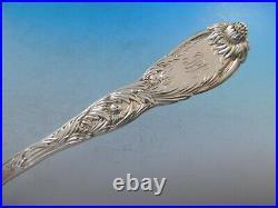 Chrysanthemum by Tiffany Sterling Silver Flatware Set 12 Service 182 pcs Dinner