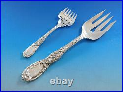 Chrysanthemum by Tiffany Sterling Silver Flatware Set 12 Service 197 pcs Dinner