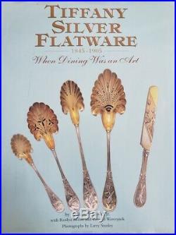 Chrysanthemum by Tiffany Sterling Silver Flatware Set 12 Service 48 pcs Dinner