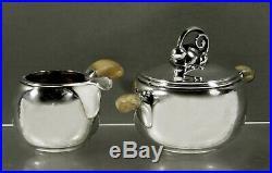 Danish Sterling Tea Set c1945 Holger Rasmussen