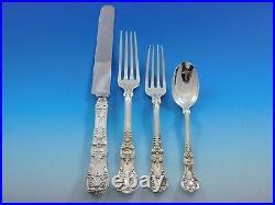 English King by Tiffany Sterling Silver Flatware Set 12 Service 60 pcs Dinner