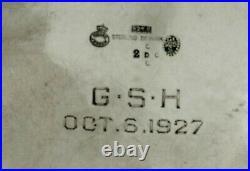 Georg Jensen Sterling Tea Set c1925 BLOSSOM