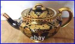 Gorgeous 1920s Black & Gold Noritake Teapot Set