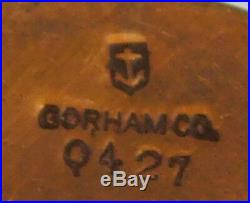 Gorham Bronze Smoking Set 4pc Art Nouveau (#2259)
