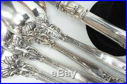 Gorham Chantilly 5 Piece Place Setting No Monogram 165g Sterling Silver NICE