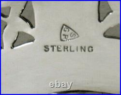 Gregor & Panis Sterling Tea Set c1940 HAND WROUGHT