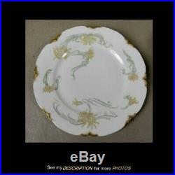 Haviland Limoges H&Co scheiger 492 Art Nouveau Dinnerware Set