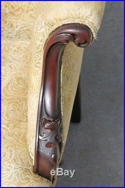 Mahogany ART NOUVEAU Figural Cherubs Parlor Set Attributed to Karpen c1910