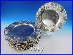 Martele by Gorham Sterling Silver Set of 13 Charger Plates with Daisy (#4661)