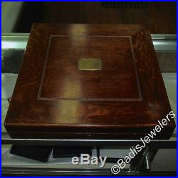 Mauser Silverware American Beauty by Shiebler 1896 6 Place Setting Original Box