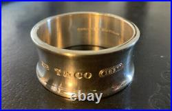 NWOT TIFFANY & CO. Sterling Silver 1837 Wide Napkin Ring 44g (Up To Set of 6)