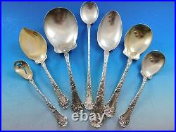 Poppy by Gorham Sterling Silver Flatware Set for 12 Service 252 pieces Dinner