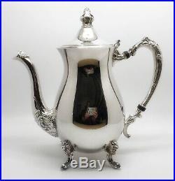 SHERIDAN Jack Shepard Vintage 5-Piece Silverplate Tea & Coffee Service Set