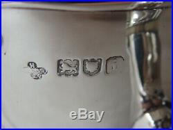 SUPERB EDWARDIAN ART NOUVEAU STERLING SILVER TEA SET LONDON 1904 667g
