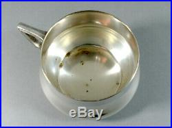 Set O. Six Wmf Ca. 1910 Art Nouveau Secessionist Teaglass Holders On Tray S/pl