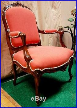 Set of 8 Matching French Louis XV Chairs, France 1800-1899 #5658