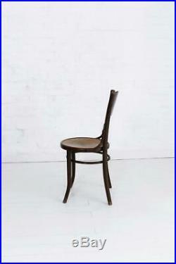Set of Four Art Nouveau Bentwood Chairs by Thonet Mundus