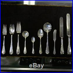 Tiffany & Co. Flemish Sterling Silverware 10-Pc Place Setting L&D Service for 6