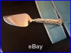 Tiffany Sterling Silver flatware set No Monogram HEAVY set