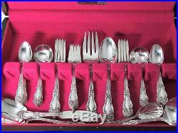 Tiger Lily Festivity Reed & Barton Art Nouveau Dinner Set Srvng Pcs Chest
