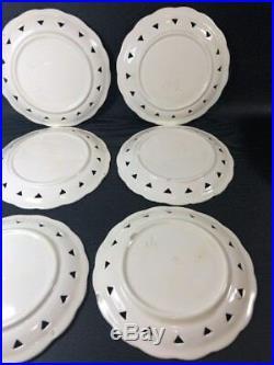 VBS Majolica Plates Set Of 7 Schramberg Villeroy Boch 4 lilac flowers 1I