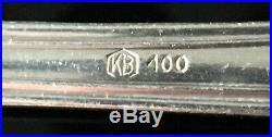 VTG Art Nouveau Germany Silver 100 Flatware 34 pcsSet for 6Heavy Silverware