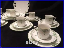 Victoria Austria Art Nouveau Circa 1909 Tea Set