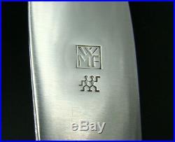 WMF ART NOUVEAU IVY LEAF Silver Plate Flatware Set for 12, 114 Pieces EXCELLENT