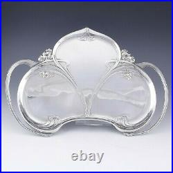 WMF Art Nouveau Jugendstil silver plated coffee set tray German c. 1900